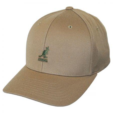 Kangol Flexfit Kangol Logo Wool Flexfit Baseball Cap