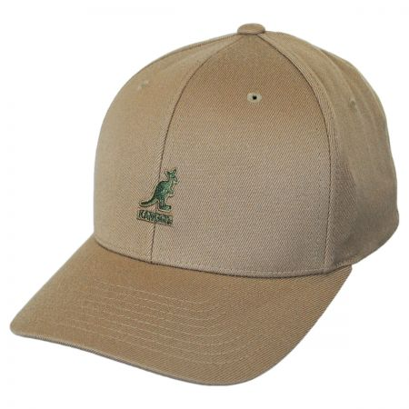 Logo Wool FlexFit Fitted Baseball Cap alternate view 57
