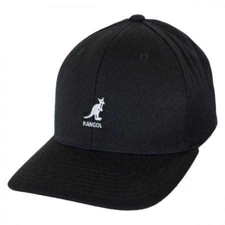 Kangol Logo Wool FlexFit Fitted Baseball Cap
