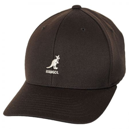 Logo Wool FlexFit Fitted Baseball Cap alternate view 9