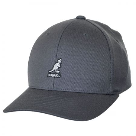 Logo Wool FlexFit Fitted Baseball Cap alternate view 45