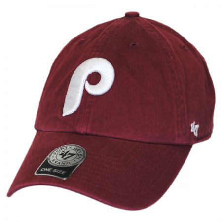47 Brand Philadelphia Phillies MLB Clean Up Strapback Baseball Cap