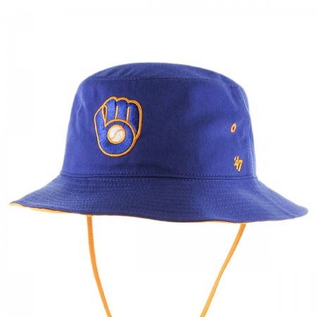 47 Brand Milwaukee Brewers MLB Kirby Bucket Hat
