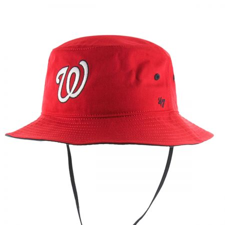 47 Brand Washington Nationals MLB Kirby Bucket Hat