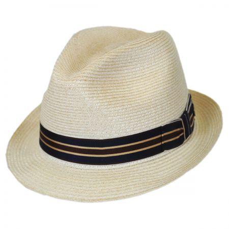 Stetson Ivy Leaguer Hemp Straw Fedora Hat