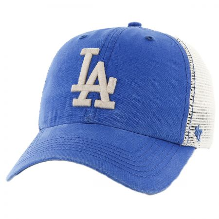47 Brand Los Angeles Dodgers MLB Rockford Mesh Fitted Baseball Cap