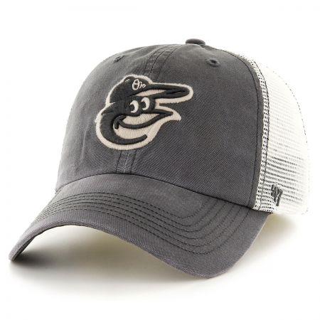 47 Brand Baltimore Orioles MLB Rockford Mesh Fitted Baseball Cap
