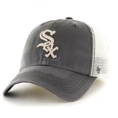 47 Brand Chicago White Sox MLB Rockford Mesh Fitted Baseball Cap