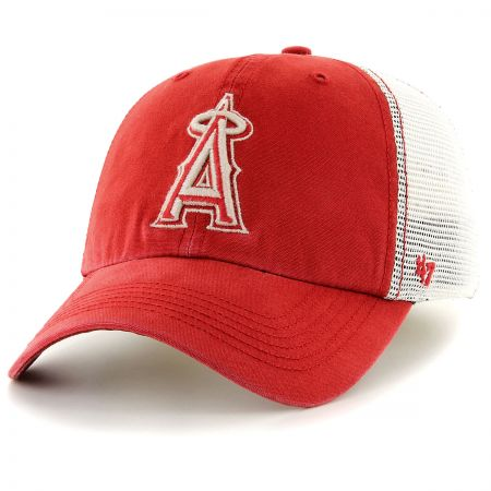 47 Brand Los Angeles Angels of Anaheim MLB Rockford Mesh Fitted Baseball Cap