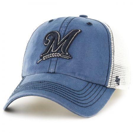 47 Brand Milwaukee Brewers MLB Rockford Mesh Baseball Cap