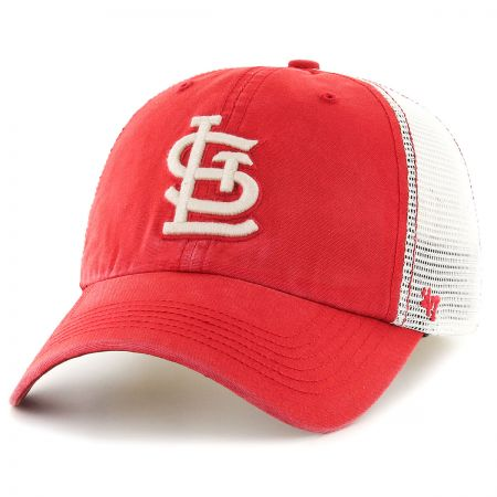 47 Brand St. Louis Cardinals MLB Rockford Mesh Fitted Baseball Cap