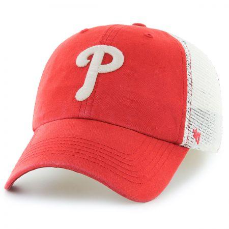 47 Brand Philadelphia Phillies MLB Rockford Mesh Fitted Baseball Cap