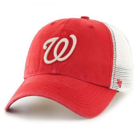 47 Brand Washington Nationals MLB Rockford Mesh Baseball Cap
