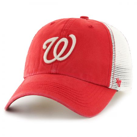 47 Brand Washington Nationals MLB Rockford Mesh Fitted Baseball Cap