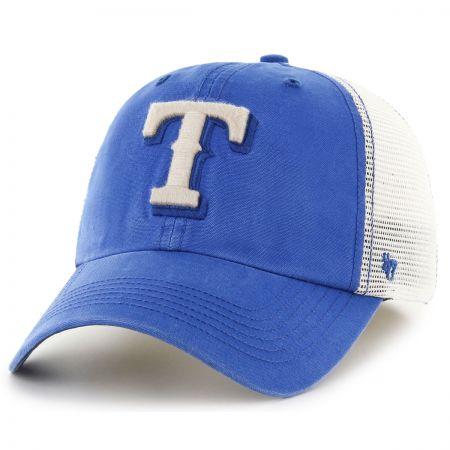 47 Brand Texas Rangers MLB Rockford Mesh Fitted Baseball Cap