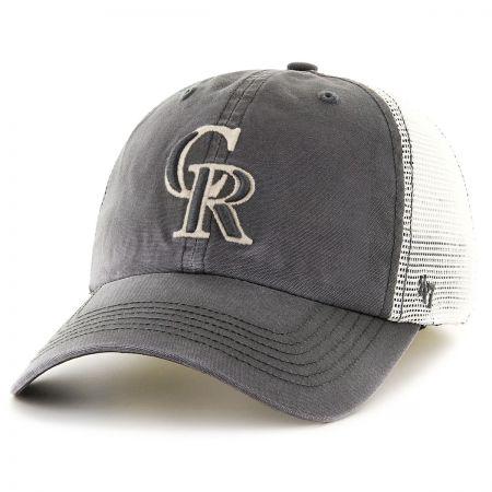 47 Brand Colorado Rockies MLB Rockford Mesh Fitted Baseball Cap