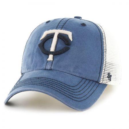 47 Brand Minnesota Twins MLB Rockford Mesh Fitted Baseball Cap