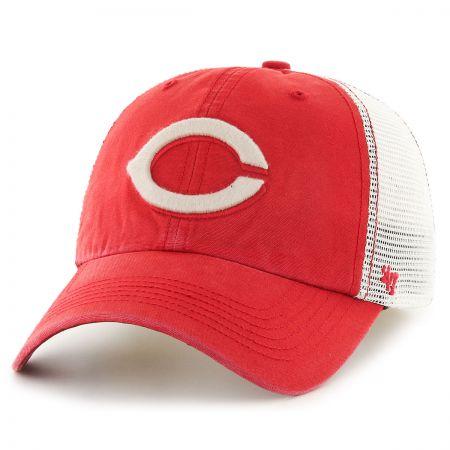 47 Brand Cincinnati Reds MLB Rockford Mesh Baseball Cap