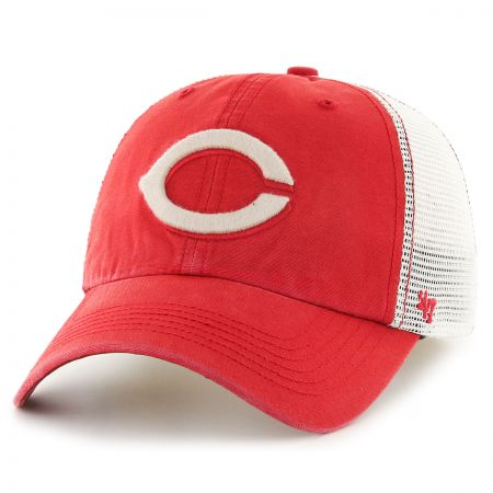 47 Brand Cincinnati Reds MLB Rockford Mesh Fitted Baseball Cap