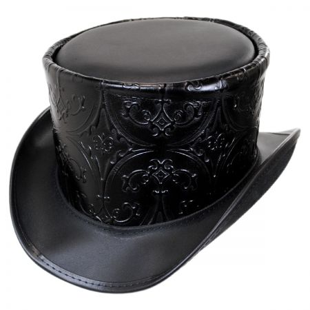 Head 'N Home Royale Leather Topper Hat