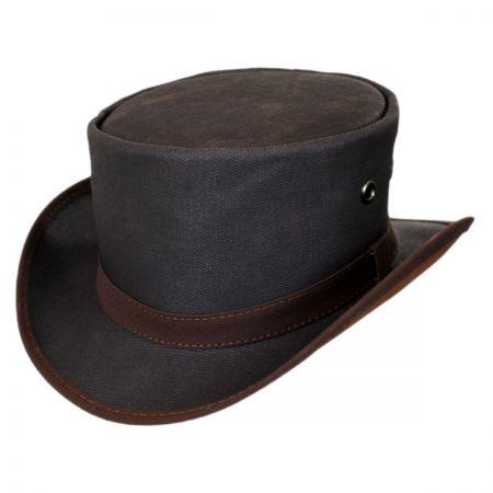 Waxed Cotton Rain Hat at Village Hat Shop 30baaece34a