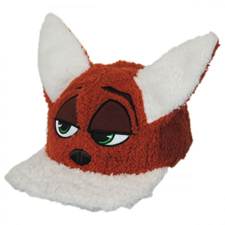Disney Zootopia Nick Wilde Adjustable Baseball Cap with Ears