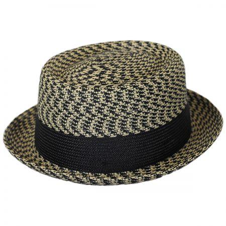 Bailey Telemannes Poly Braid Straw Pork Pie Hat