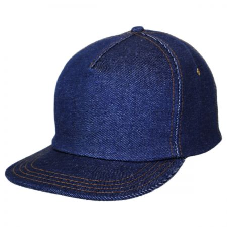 New York Hat Company Denim Strapback Baseball Cap