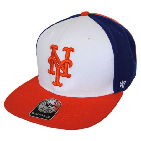 47 Brand New York Mets MLB Amble Snapback Baseball Cap