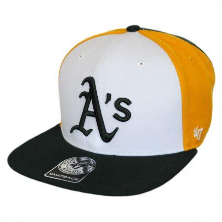 47 Brand Oakland Athletics MLB Amble Snapback Baseball Cap