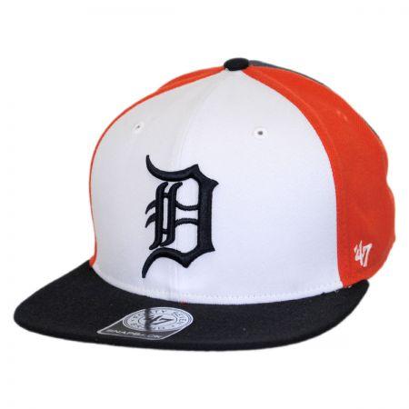 Detroit Tigers MLB Amble Snapback Baseball Cap alternate view 1