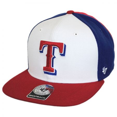 Texas Rangers MLB Amble Snapback Baseball Cap 129aabea914
