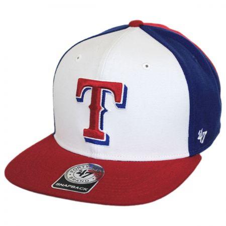 47 Brand Texas Rangers MLB Amble Snapback Baseball Cap