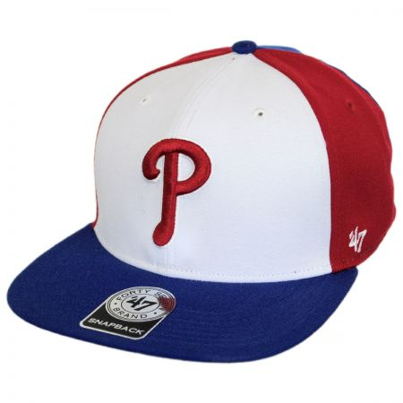47 Brand Philadelphia Phillies MLB Amble Snapback Baseball Cap