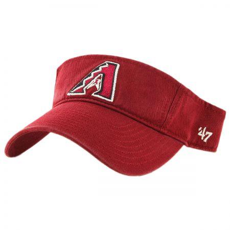 47 Brand Arizona Diamondbacks MLB Clean Up Adjustable Visor