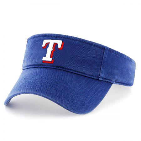 Texas Rangers MLB Clean Up Adjustable Visor