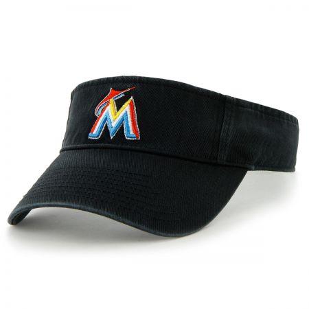 47 Brand Miami Marlins MLB Clean Up Adjustable Visor