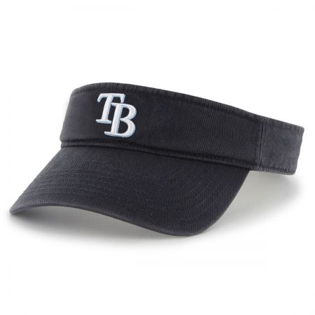 47 Brand Tampa Bay Rays MLB Clean Up Adjustable Visor
