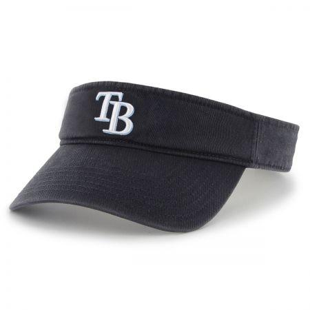 47 Brand Tampa Bay Rays MLB Clean Up Adjustable Visor