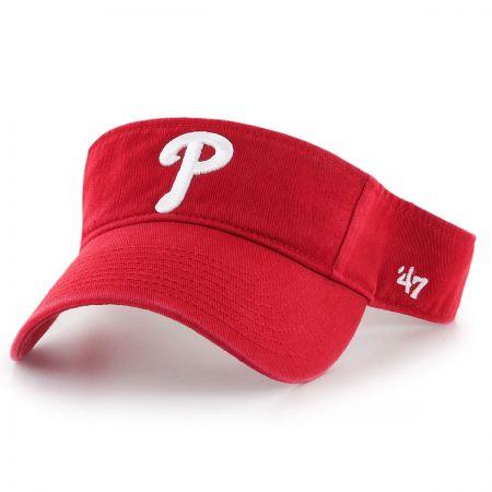 47 Brand Philadelphia Phillies MLB Clean Up Adjustable Visor