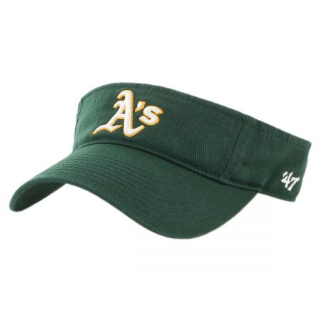 47 Brand Oakland Athletics MLB Clean Up Adjustable Visor