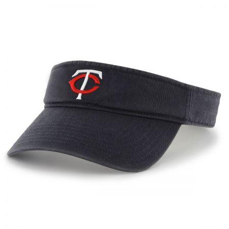 47 Brand Minnesota Twins MLB Clean Up Adjustable Visor