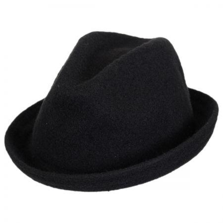 Jaxon Hats Kid's Wool Player Fedora Hat