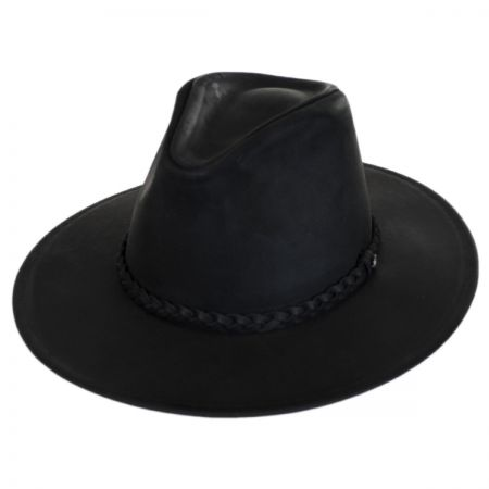 Jaxon Hats Buffalo Leather Western Hat