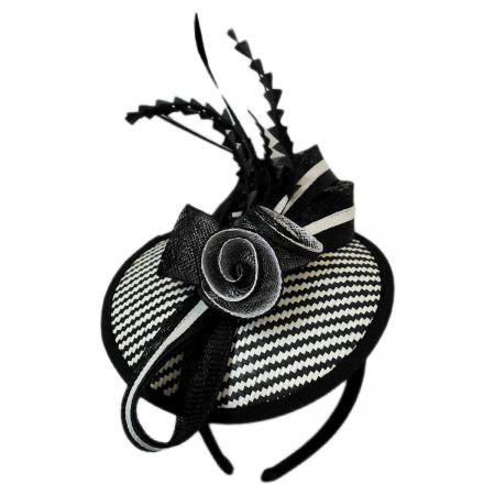 Jeanne Simmons Zig Zag Fascinator Headband
