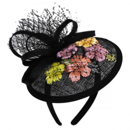 Jeanne Simmons Flower Dish Straw Fascinator Headband