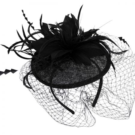 Jeanne Simmons Veil Fascinator Headband