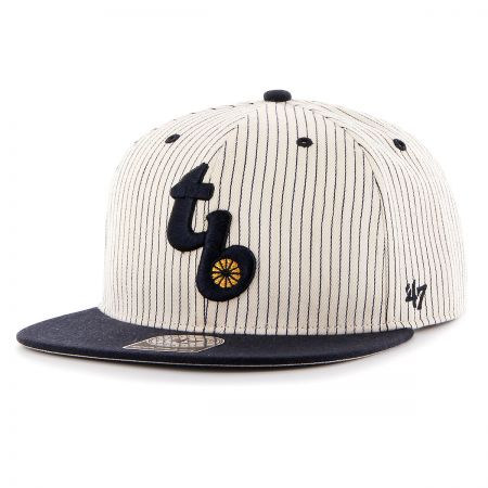 Tampa Bay Rays MLB Woodside Stripe Snapback Baseball Cap alternate view 1