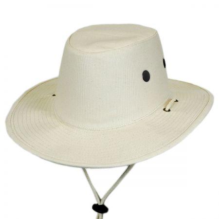 Dorfman Pacific Cotton Canvas Booney Hat