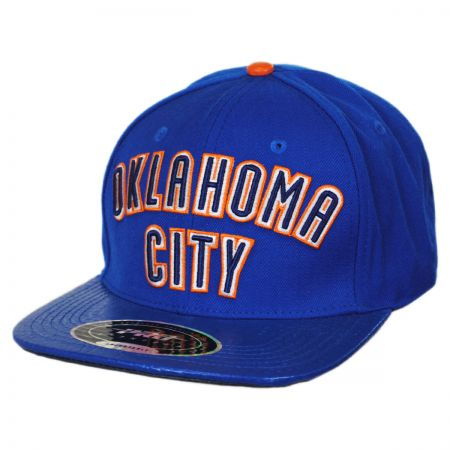 Pro-Standard Oklahoma City Thunder NBA Gator Embossed Bill Baseball Cap